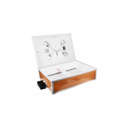 Инкубатор для яиц Курочка Ряба иб 120, автоматический, с вентилятором