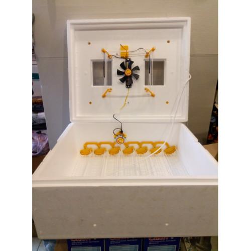 Инкубатор для яиц Теплуша иб 63/30/200 автоматический, тэн, цифровой