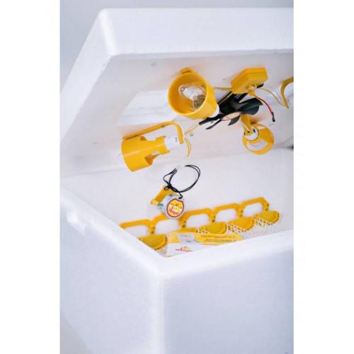 Инкубатор для яиц Теплуша иб 63, автоматическй, влагомер, 4 лампочки, цифровой