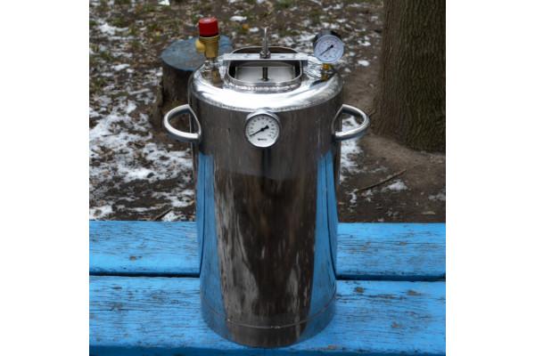 Автоклав огневой 'ЛЮКС-21' с биметаллическим термометром
