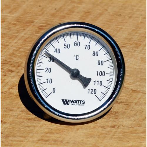 Биметаллический термометр для автоклава